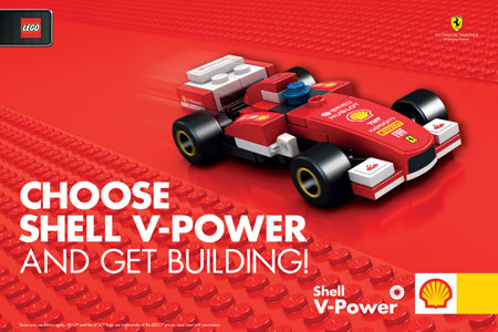Mengintip Harga Shell V-Power LEGO